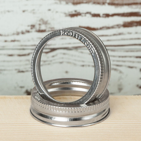 Jar Band - Stainless Steel - Wide Mouth