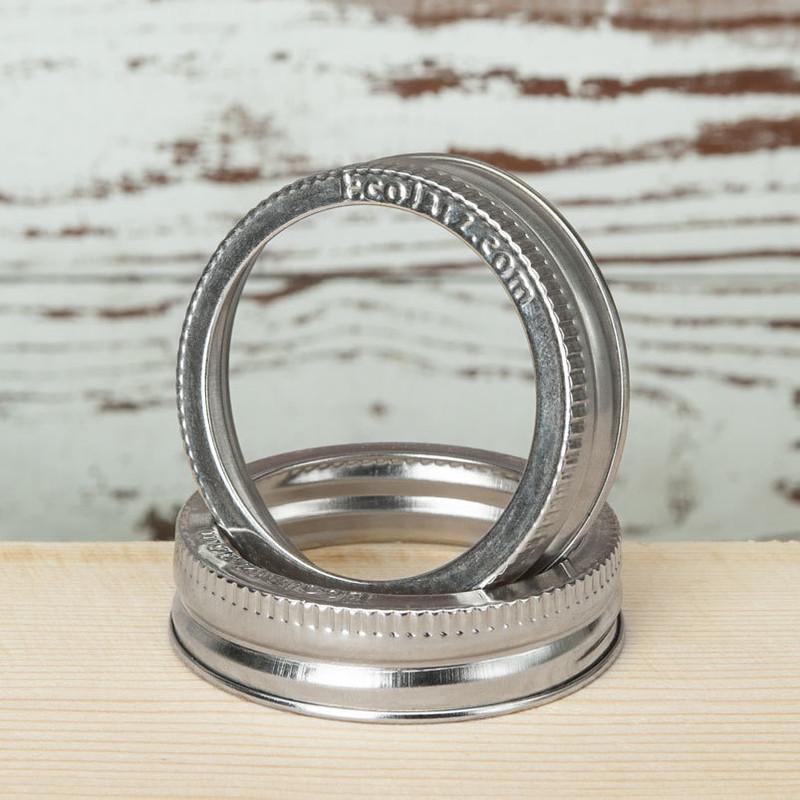 Jar Band - Stainless Steel - Regular Mouth