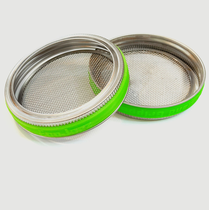 Stainless Steel Mesh Lid - Wide Mouth