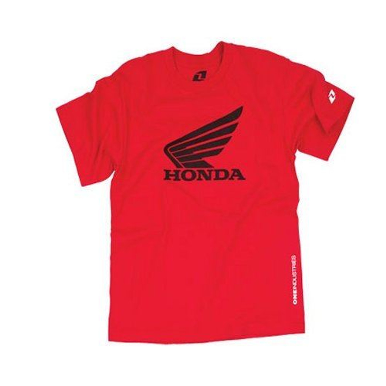 ONE INDUSTRIES YOUTH SIZE HONDA T SHIRT RED