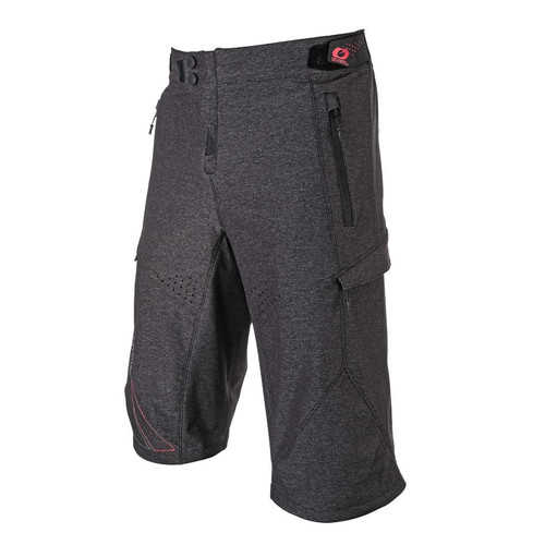 2018 O#Neal Stormrider MTB Shorts Gray/Red