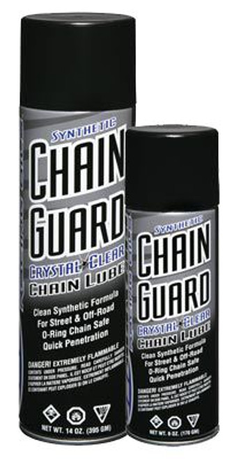 Maxima Chain Synthetic Guard Large Crystal Clear Chain Lube 460ml