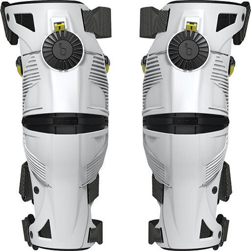 Mobius X8 Knee Brace White/Acid Yellow
