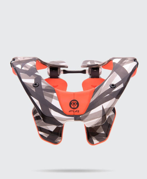 2018 Atlas Air Neck Brace Orange Laser