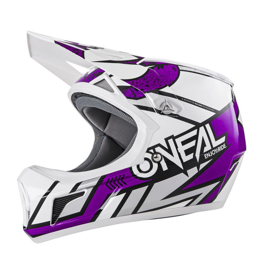 2019 O'Neal Sonus Strike MTB Helmet White/Purple