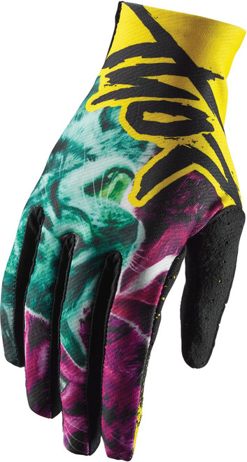 2018 Thor Void Men's MX Gloves Hype Kitn