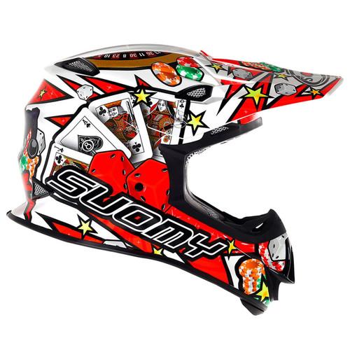Suomy Mr Jump MX Helmet Jackpot White