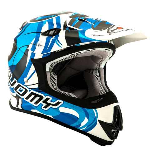 Suomy Mr Jump MX Helmet Vortex Blue