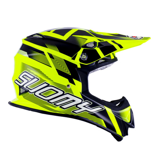 Suomy Mr Jump MX Hlemet Special Yellow Flo/Black