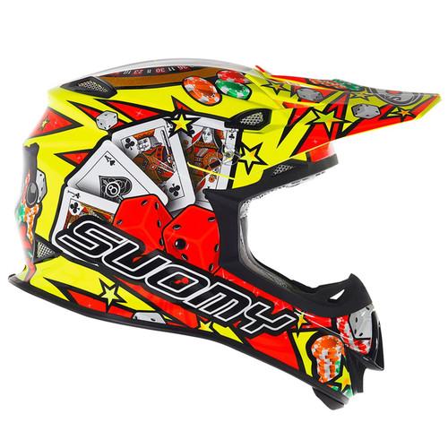 Suomy Mr Jump MX Helmet Jackpot Yellow