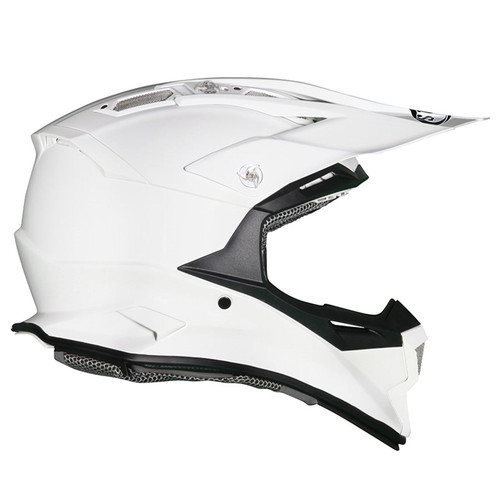 Suomy Alpha MX Helmet White Gloss