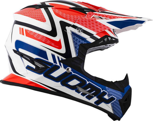 Suomy Rumble MX Helmet Snake Red