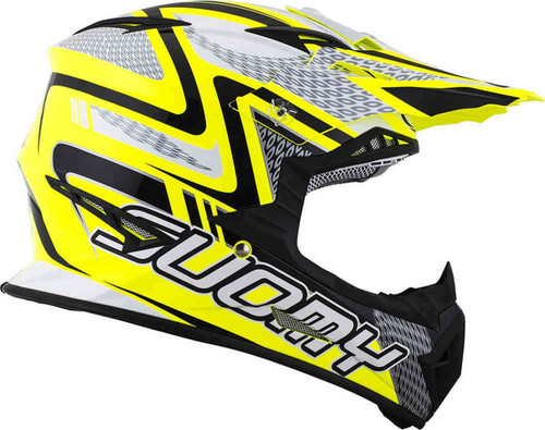 Suomy Rumble MX Helmet Snake Yellow