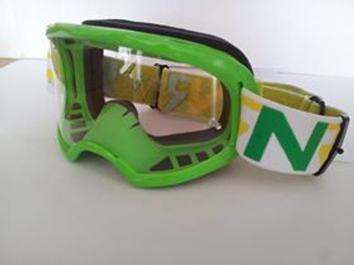 Rip n Roll Colossus Tear Off Goggles Green w/Clear Lens