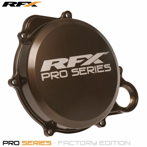 RFX Pro Clutch Cover (Hard Anodised) Honda CRF250 10>On