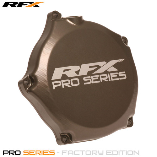 RFX Pro Clutch Cover (Hard Anodised) Kawasaki KXF250 09>On