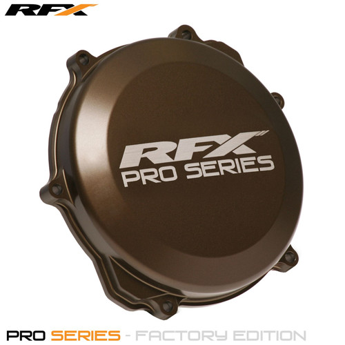 RFX Pro Clutch Cover (Hard Anodised) Yamaha YZ250 99>On