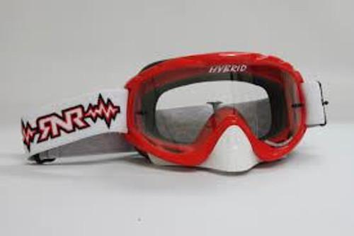 Rip n Roll Hybrid Tear Off Goggles Brilliant Red