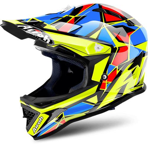Airoh Archer Junior Chief MX Helmet Blue
