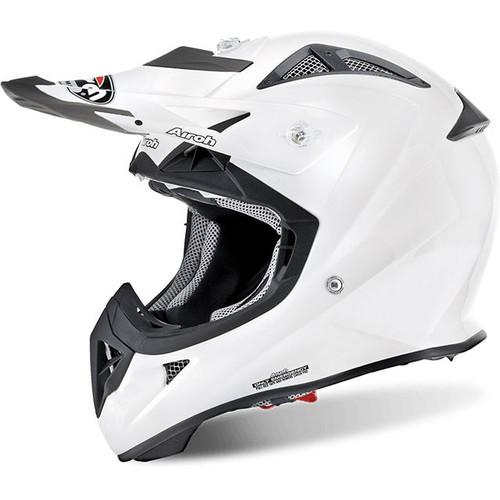 Airoh Aviator J MX helmet White