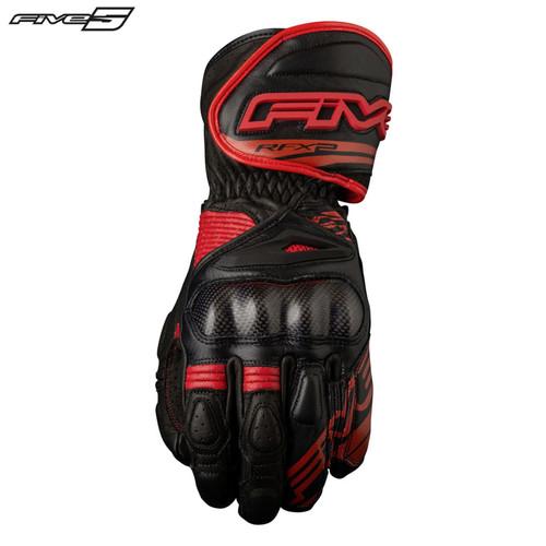 Five RFX2 Adult Gloves Black/Red