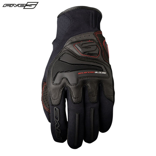 Five RS4 Adult Gloves Black
