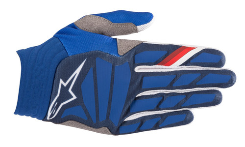 2019 Alpinestars Men's Aviator MX Gloves Dark Blue/White