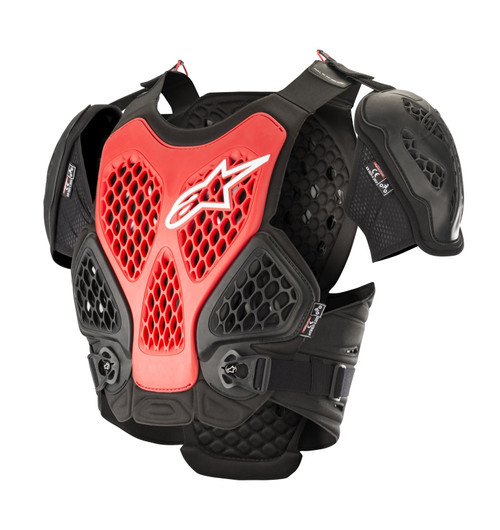 2019 Alpinestars Men's Adult Bionic Chest Protector Black/Red