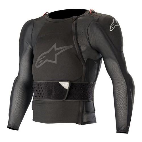 2019 Alpinestars Men's Adult Sequence Long Sleeve Jacket Protector Black