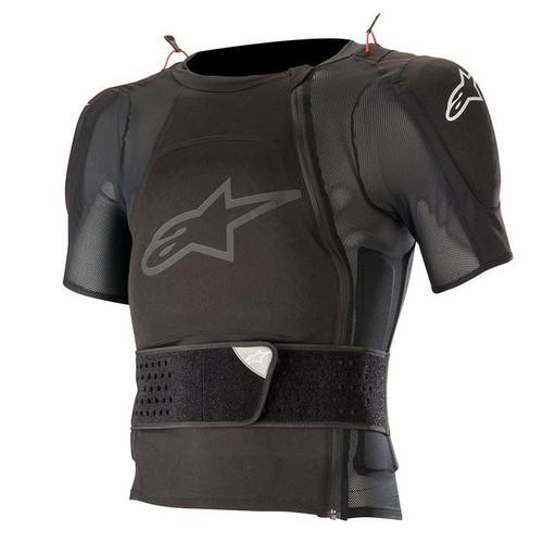 2019 Alpinestars Adult Sequence Short Sleeve Jacket Protector Black