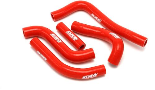 DRC Radiator hose kit CRF250R 18 red