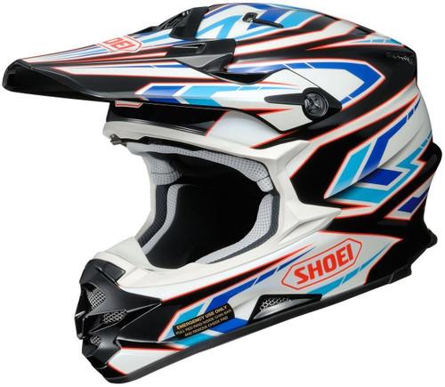Shoei VFX-W MX Helmet Blockpass TC2
