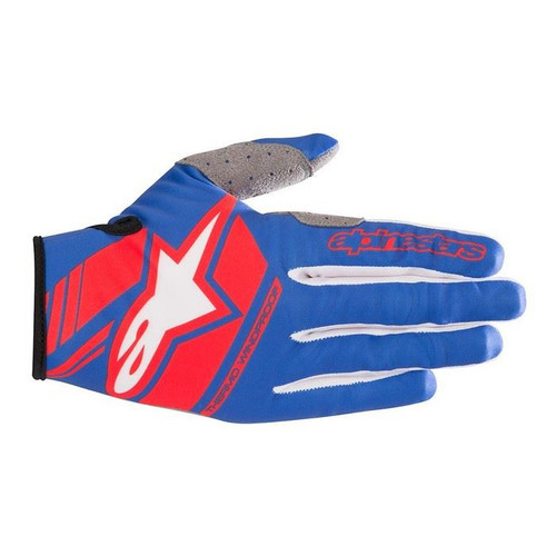 Alpinestars Men's Neo MX Gloves Blue/Red