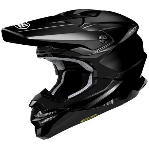 Shoei VFX-WR MX Helmet Gloss Black