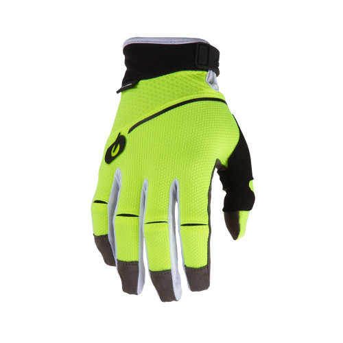 2019 O'Neal Revolution MX Gloves Neon Yellow