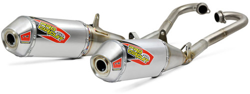 Pro Circuit T-6 Stainless Slip-On W/Removable Spark Arrestor CRF250 2018