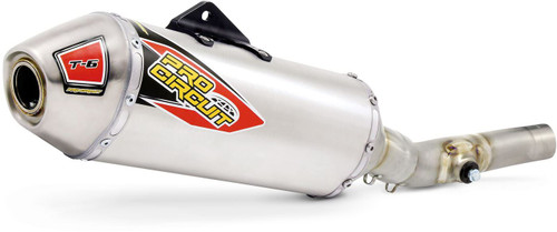 Pro Circuit T-6 Stainless Slip-On, KX250F '09-16