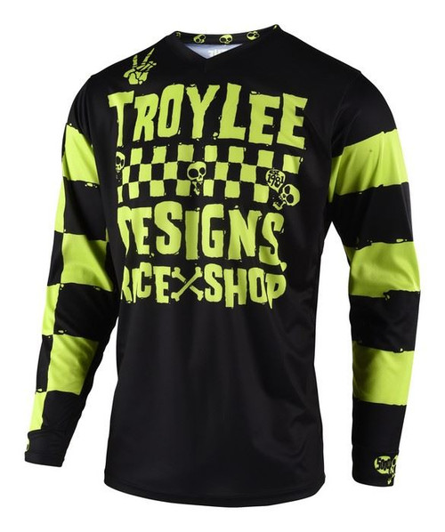 2019 Troy Lee Designs TLD Youth GP Jersey Raceshop 5000 Lime