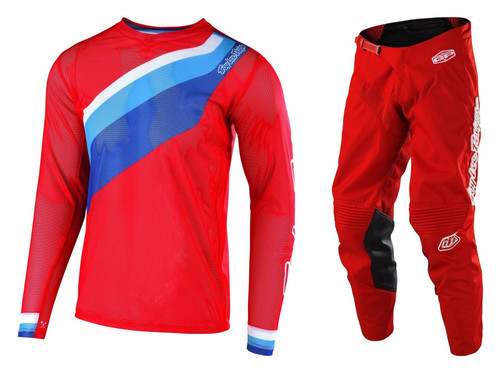 2019 Troy Lee Designs TLD Men's  MX Gear GP Air Prisma 2 Red