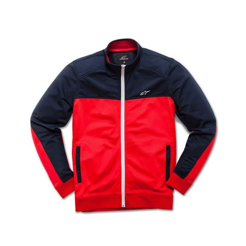 Alpinestars Men's Adult Casual Pace Track Jacket Red/Navy