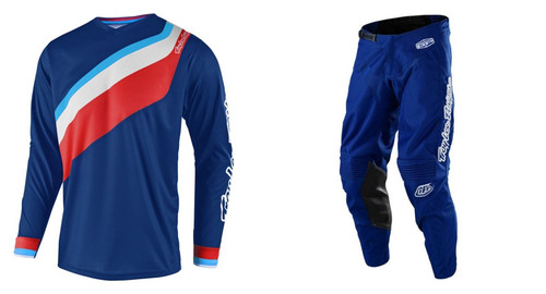 2019 Troy Lee Designs TLD Men's MX Gear GP Prisma 2 Blue