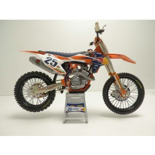 Toy Ready To Race 450 SX-F 2019 Marvin Musquin Toy Bike 1/12