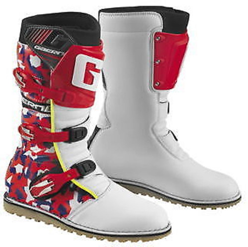 Gaerne Classic Trials Boots Camo Red