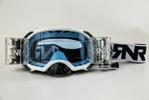 RIP N ROLL GOGGLE PLATINUM WHITE 48mm WVS