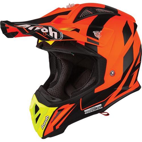 Airoh Aviator 2.3 AMS MX Helmet Bigger Orange