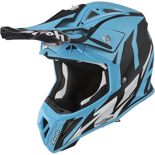 Airoh Aviator 2.3 AMS MX Helmet Azzure Matt