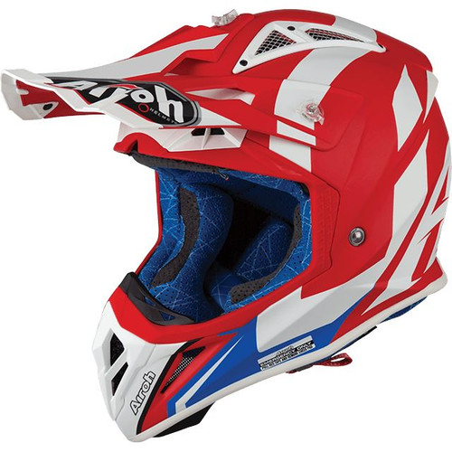 Airoh Aviator 2.3 MX Helmet Bigger Red