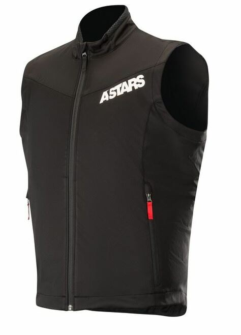 2019 Alpinestars Men's Session Race Vest Black/Red