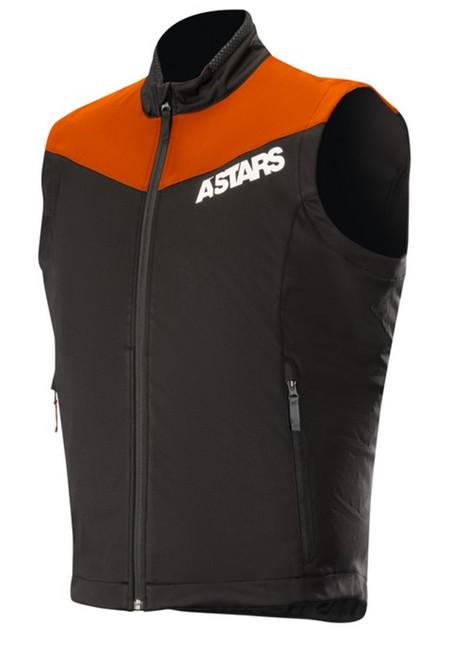 2019 Alpinestars Men's Session Race Vest Orange Flou/Black