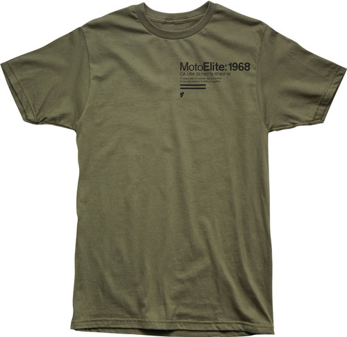 Thor Men's Casual Short Sleeved T-Shirt Definition Green